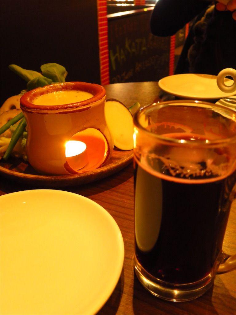 バーニャカウダとホットワイン