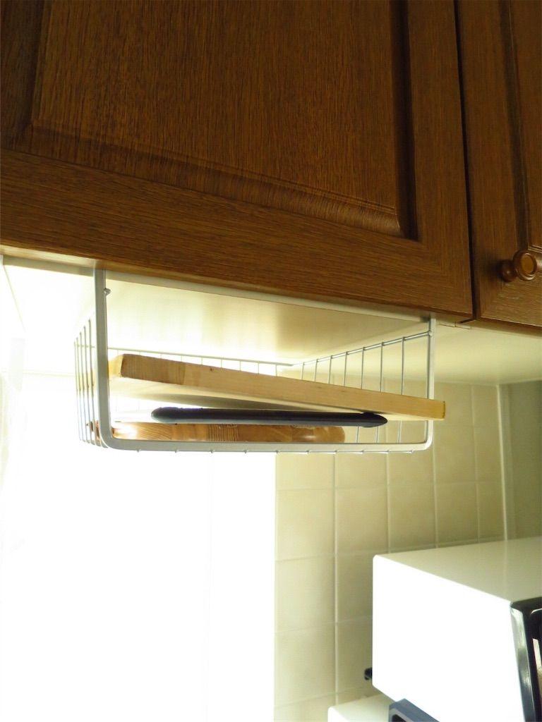 無印とオクソーのまな板。コンパクトで収納場所もとりません。