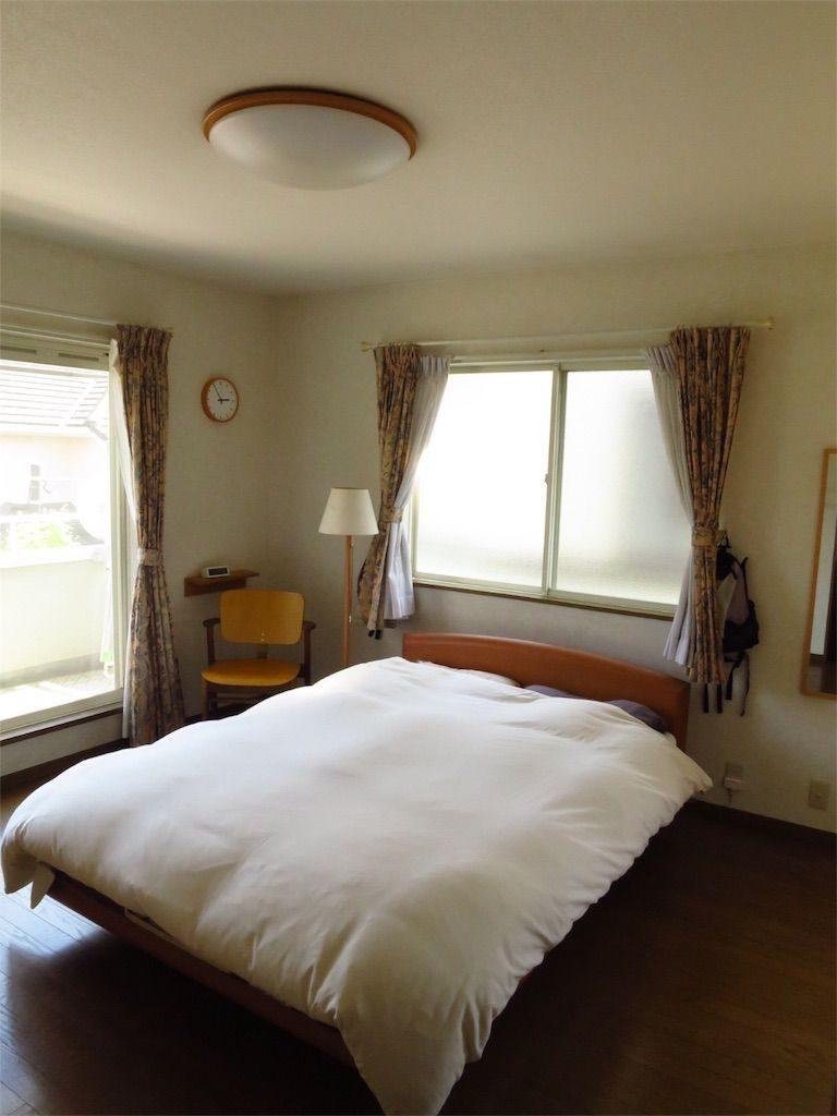 【寝室画像あり!】20年間使ったセミダブルベッドを処分します ...