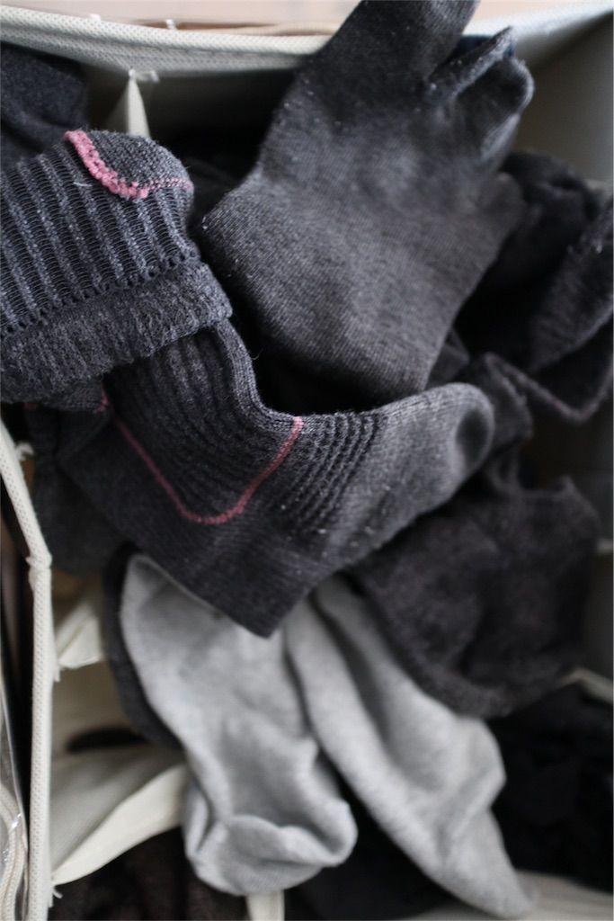 冷え取り靴下と下着の収納