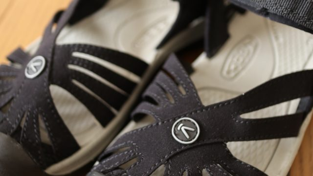 KEEN(キーン)ローズサンダルのブラック