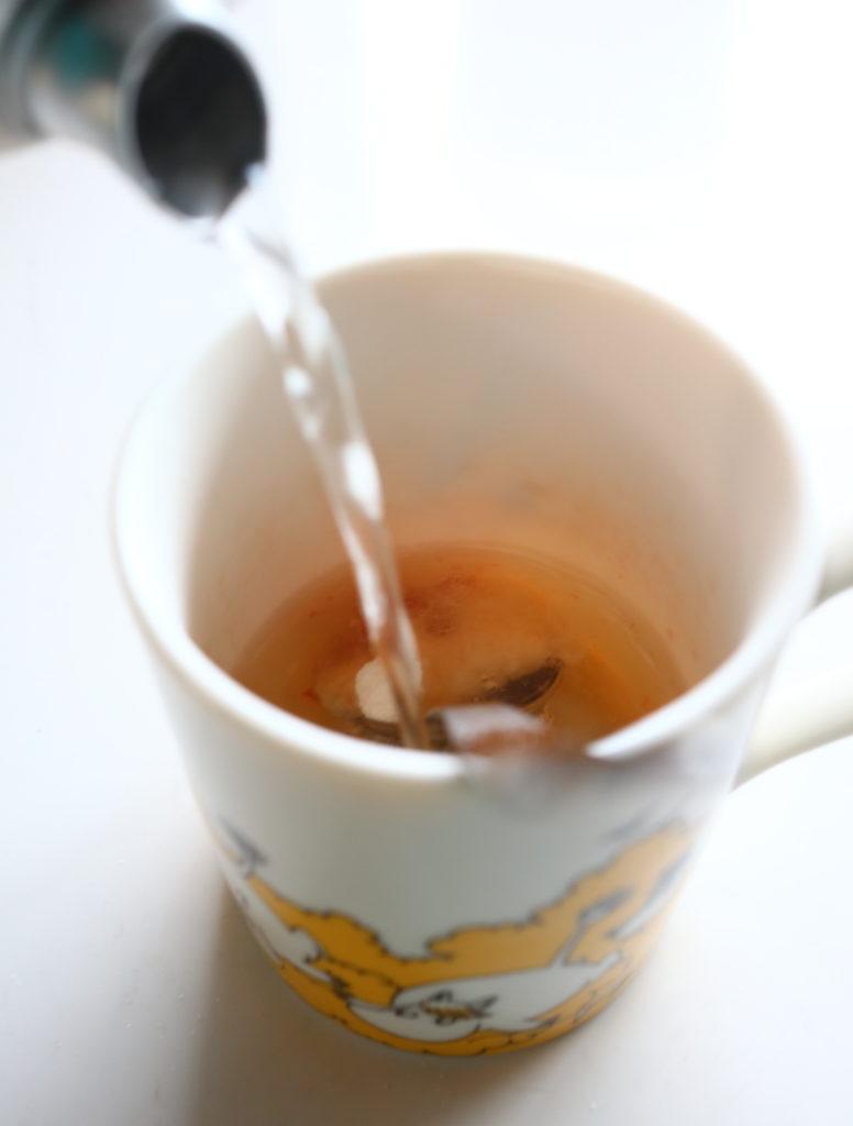 無添加おいしいだしで、熱中症対策のカンタンスープ