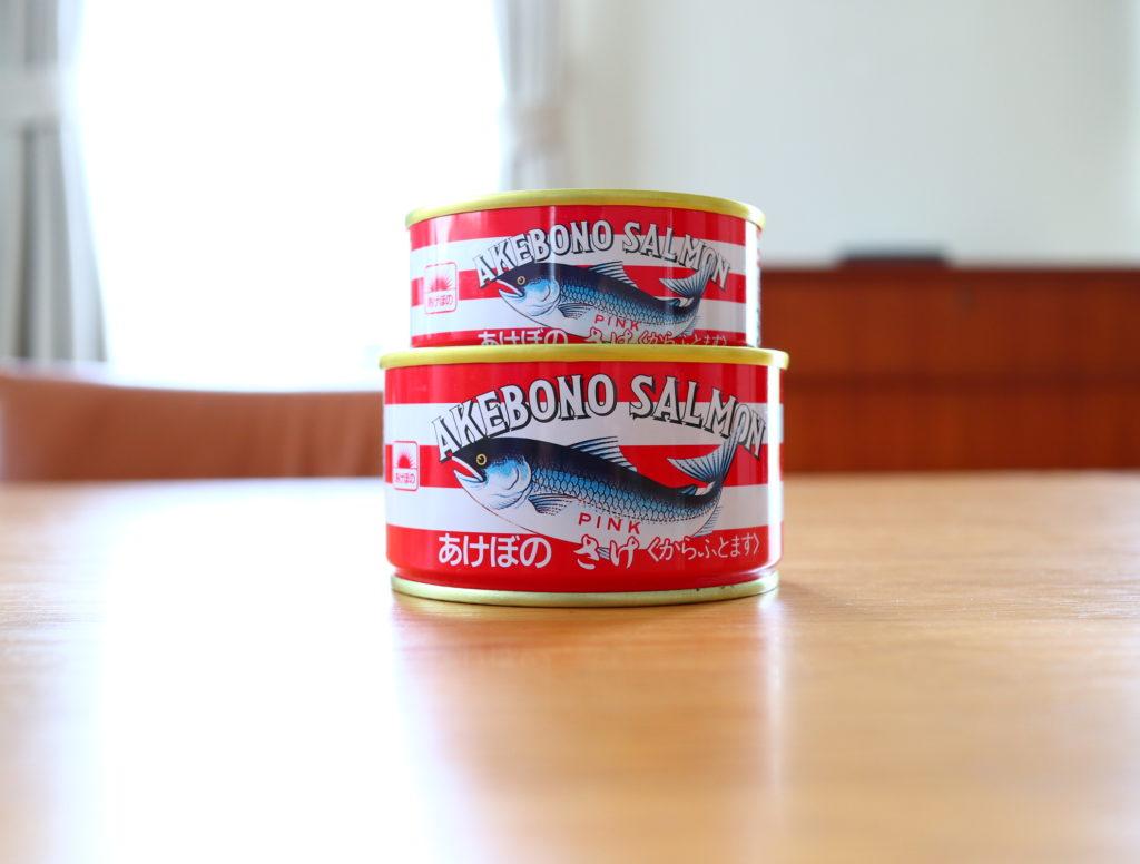 災害備蓄として缶詰をローリングストック