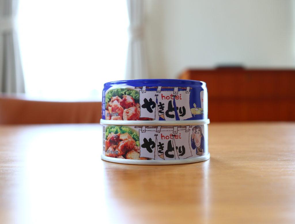 防災備蓄食料として、缶詰をローリングストック