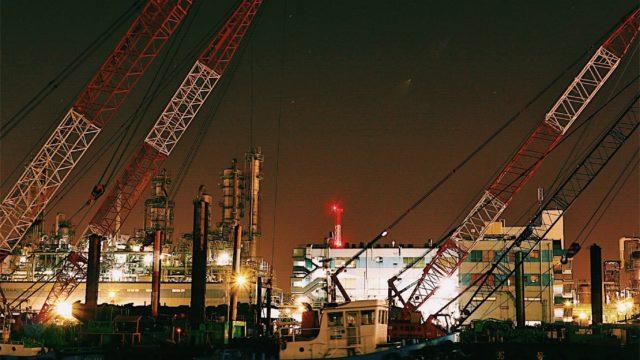 キヤノンのミラーレス一眼EOS M100で夜景撮影