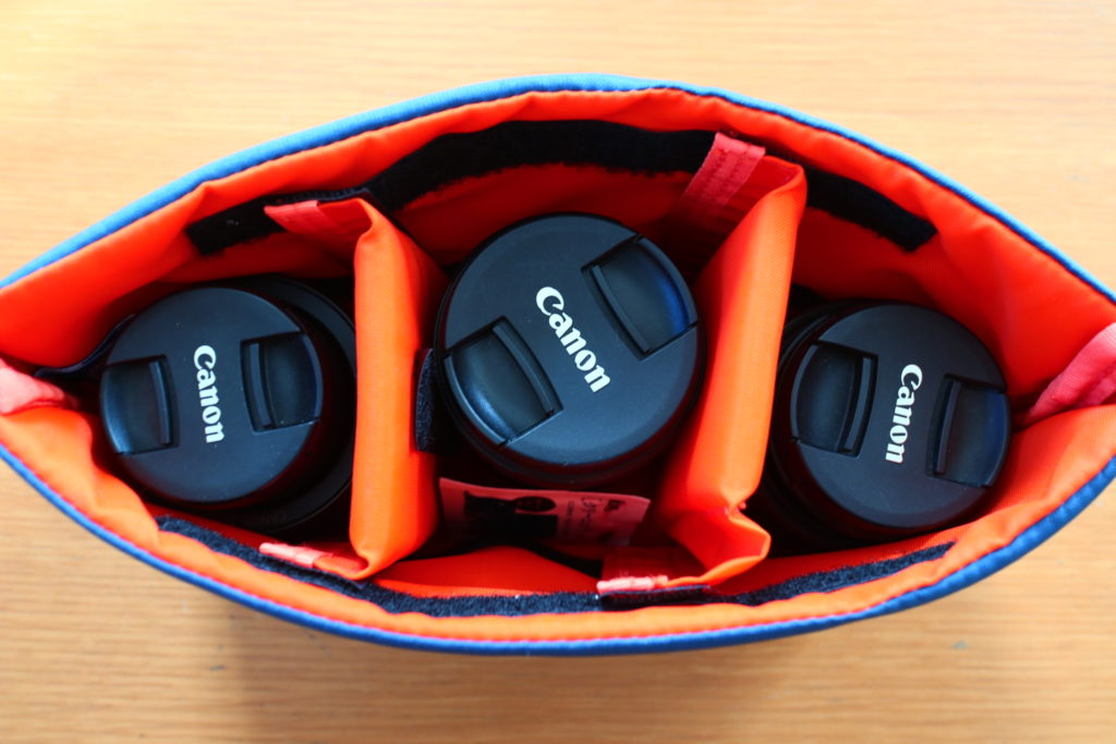 ミラーレス一眼にピッタリサイズのカメラケース