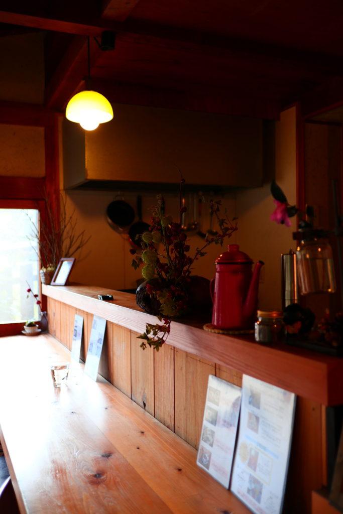 山の辺の道の隠れ家的カフェ花もり