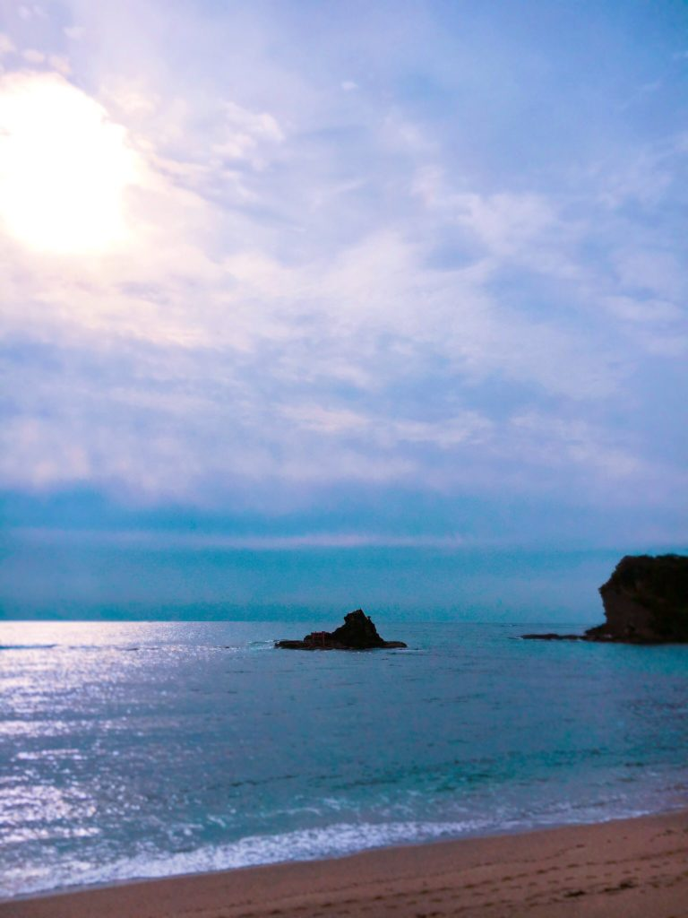 千葉勝浦の守谷海岸