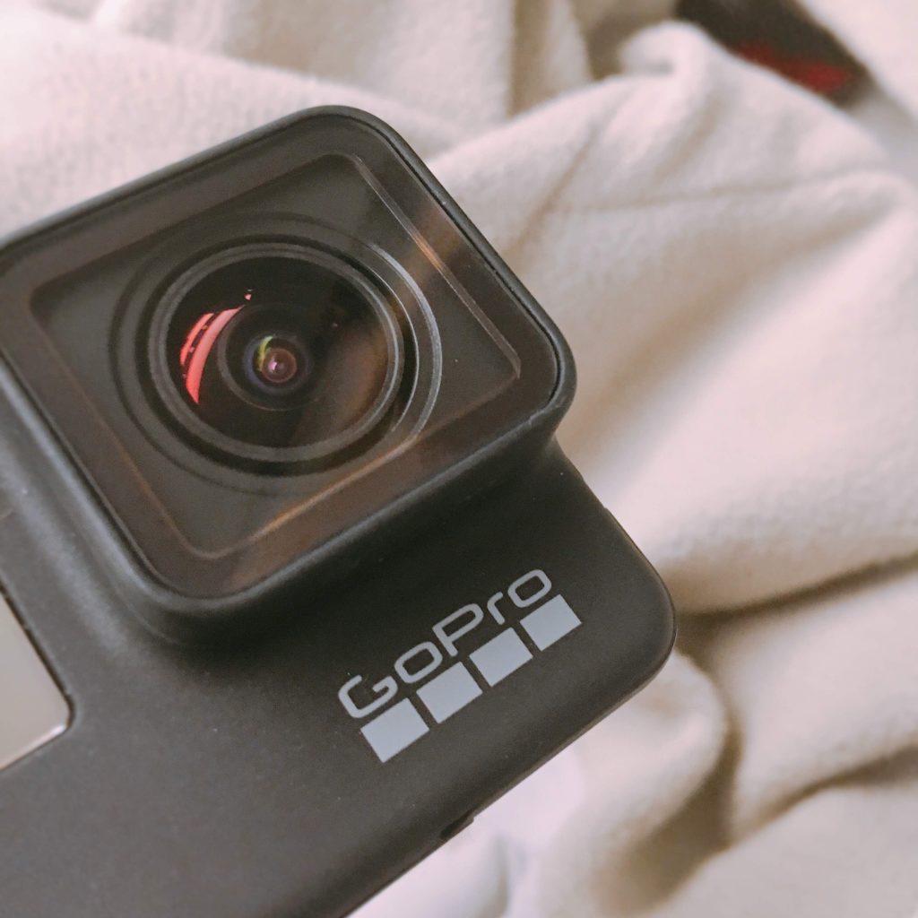 GoProHero7を旅のおともに