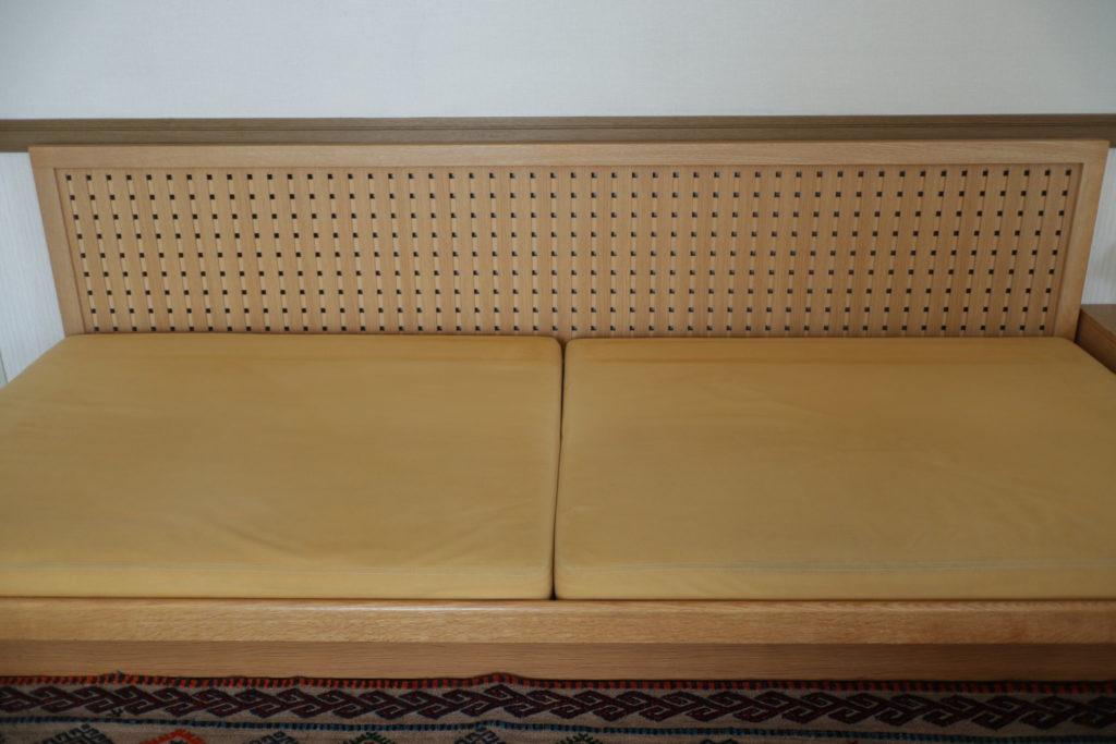 カンディハウスのハナコソファ