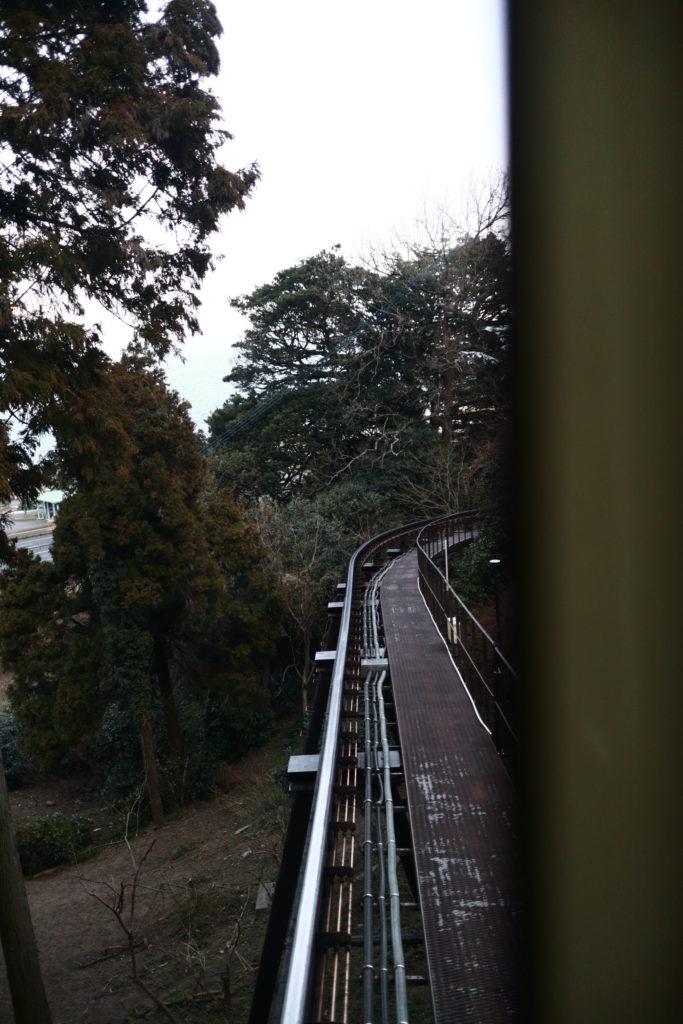 高崎山のさるっこレール