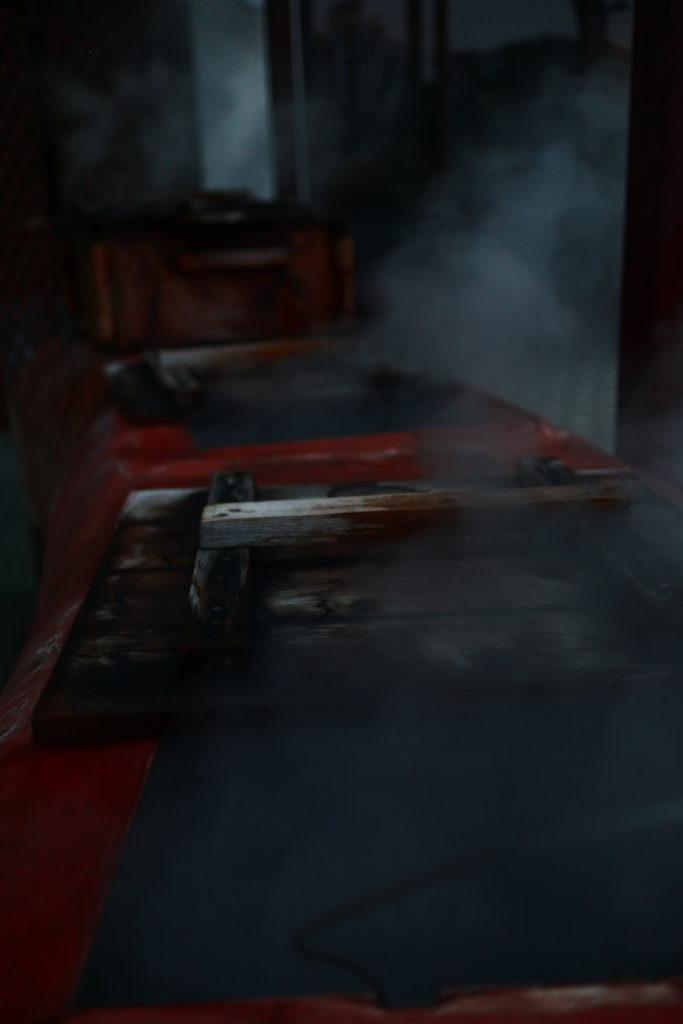 別府鉄輪温泉の地獄蒸し