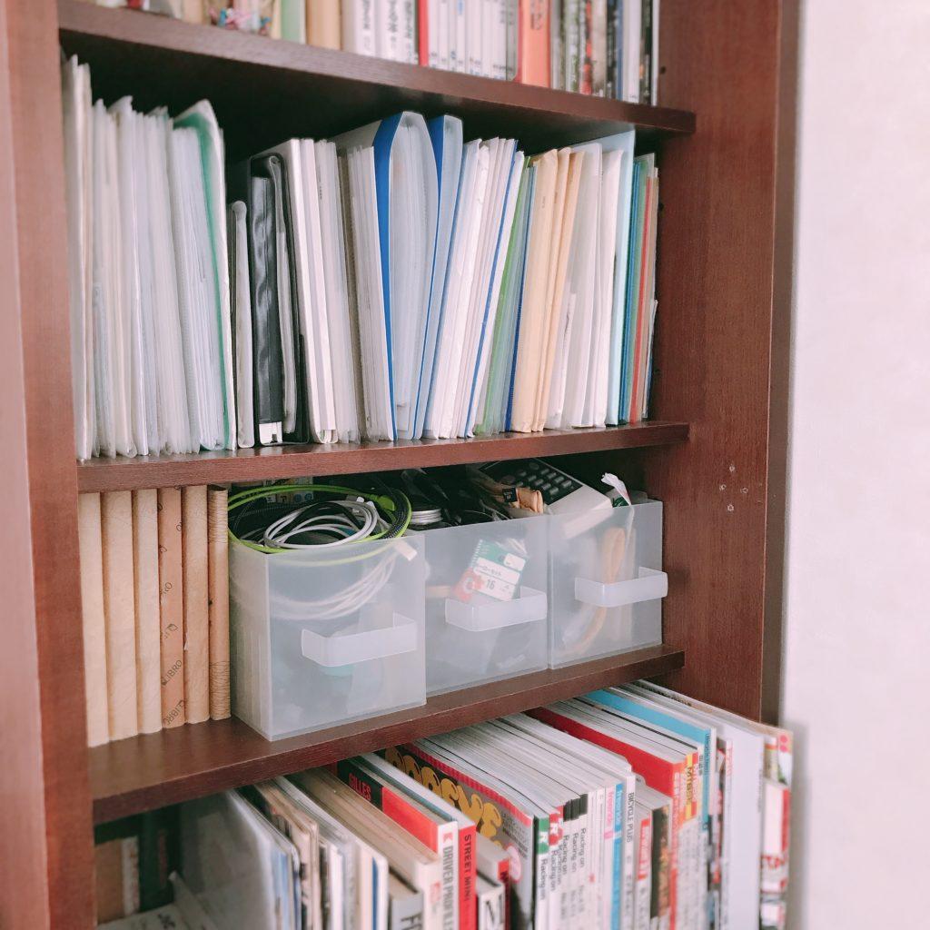 古くて背の高い本棚を断捨離したい