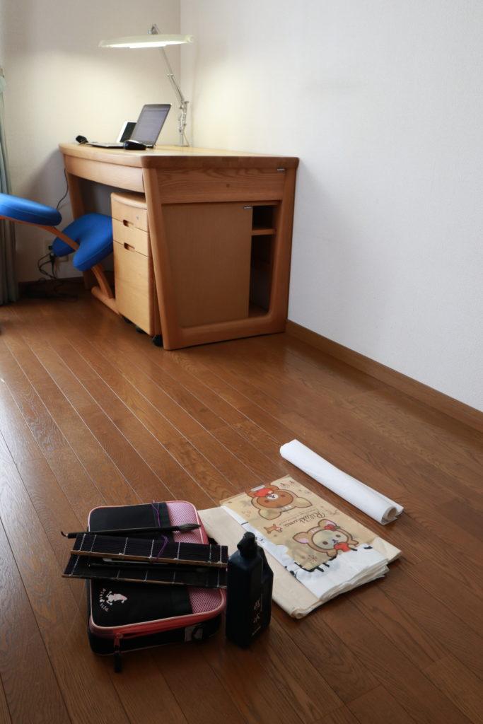 なんにもない部屋を作業部屋にしてみた