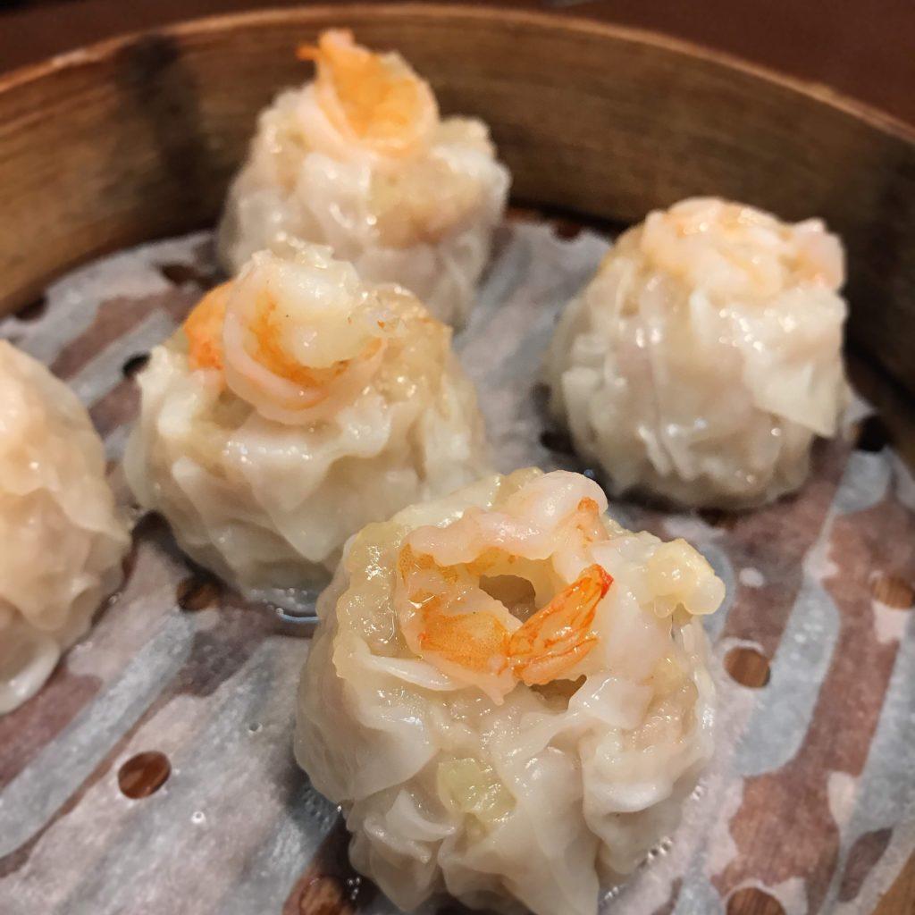 蒲田の三大羽根つき餃子店ニーハオのエビ焼売