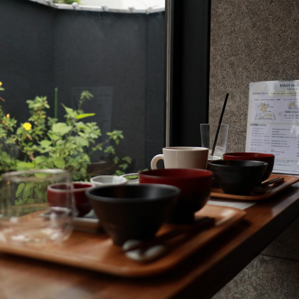 谷中HAGISOの旅する朝食