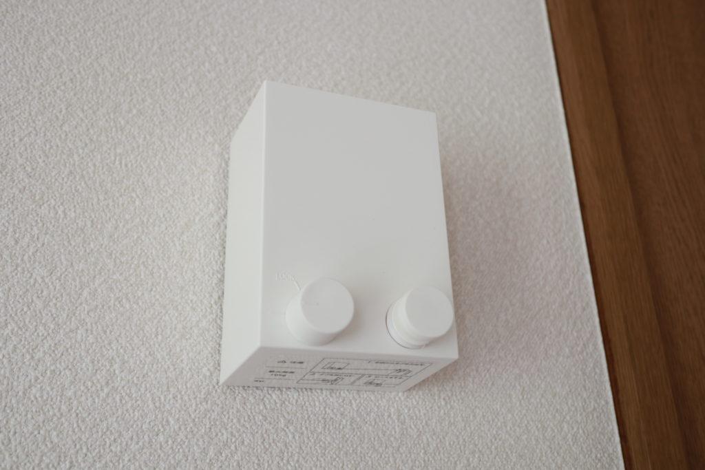 森田工業の室内物干しワイヤーpid4Mで室内干し