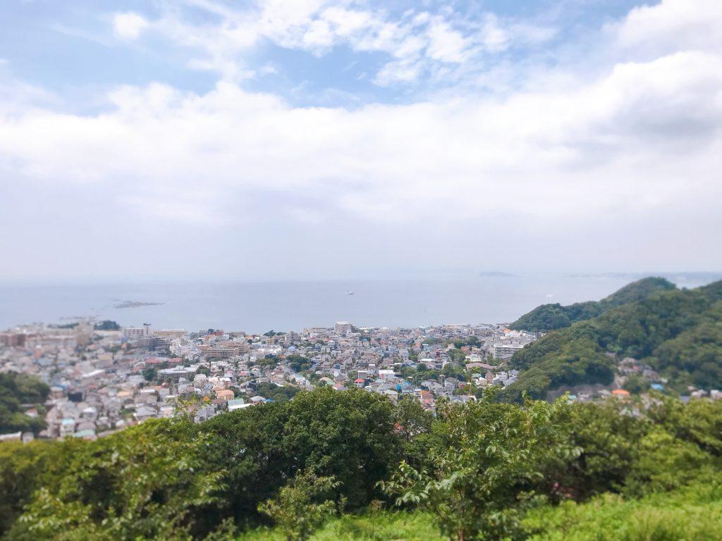 葉山の仙元山ハイキングコース