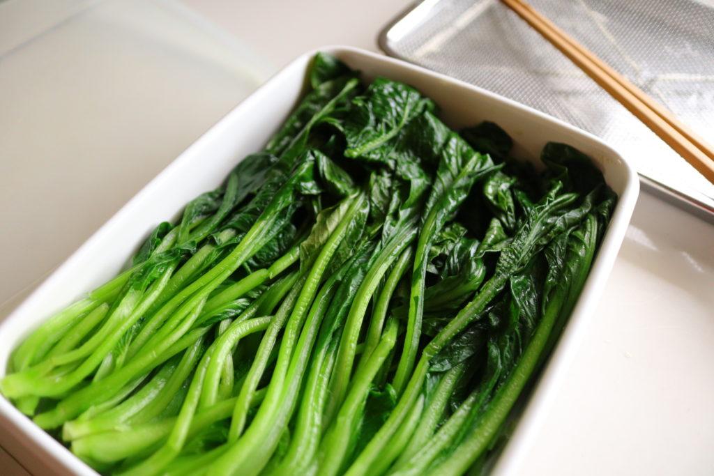 あると便利な常備食材、茹で小松菜レシピとおいしい茹で方
