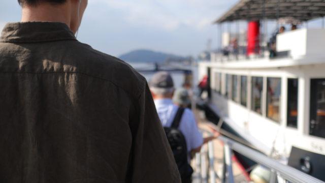 息子と「横須賀軍港めぐり」