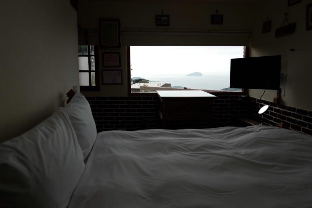 ジブリ『千と千尋の神隠し』の街九份(きゅうふん)のホステル「Mountain Sea Bay」