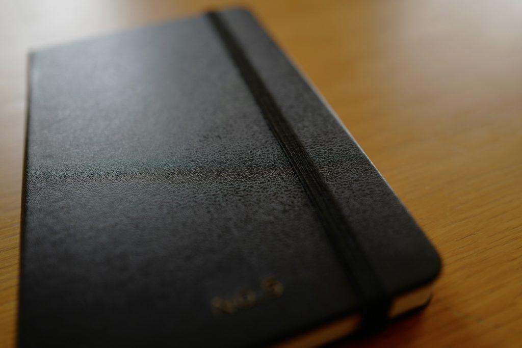 モレスキンMOLESKINEポケットノートへの無料刻印サービスを利用してみた。