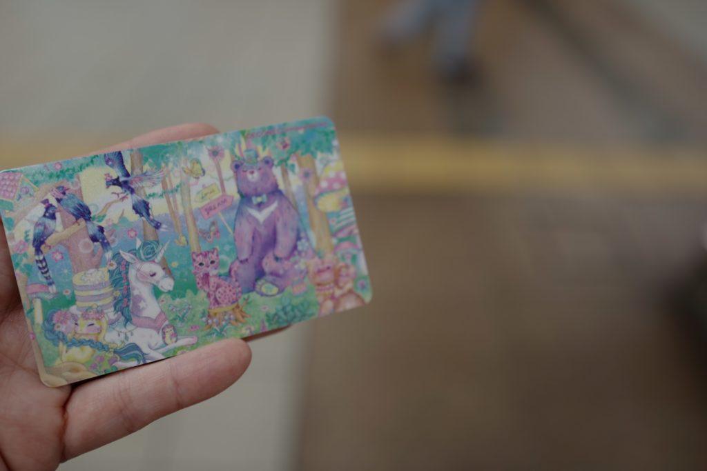 台湾のICカード「イージーカード」は、かわいいイラストものも。