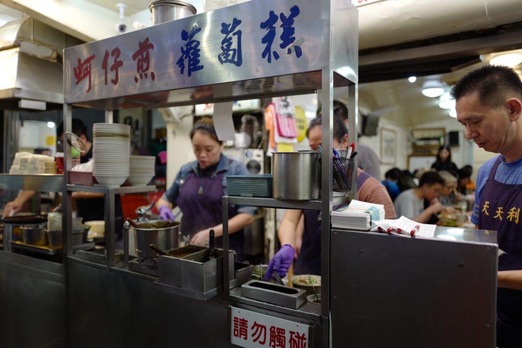 台湾グルメ!台北西門町の「天天利」でルーローハン