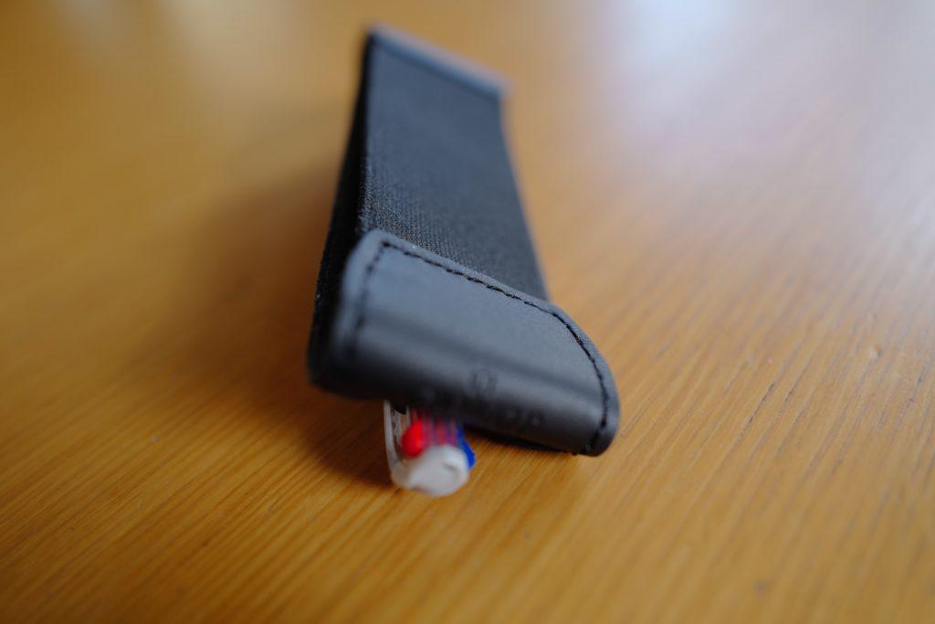 モレスキンポケットノートにぴったりサイズ!Quiver(クイヴァ―)レザーペンケース