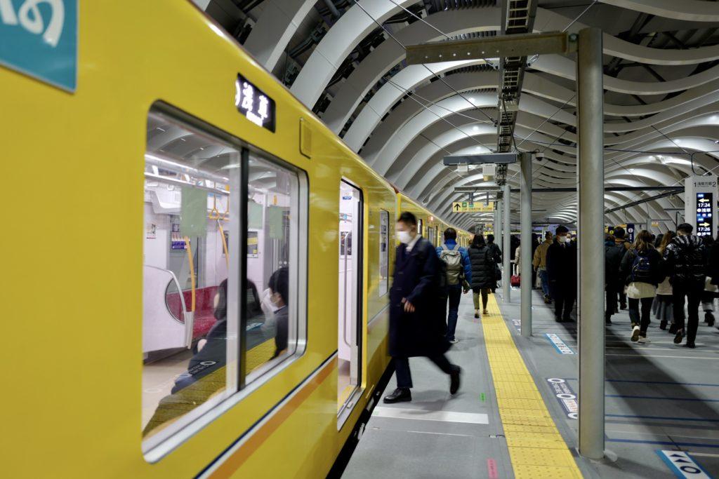 eicaQ作例:東京浅草 浅草寺から銀座線渋谷駅