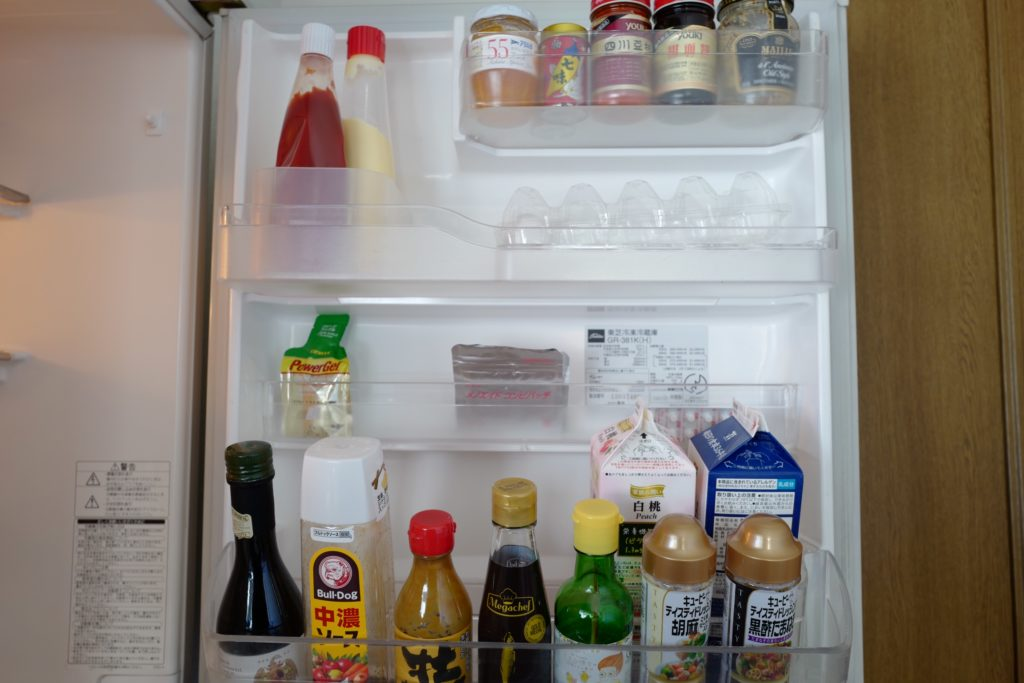 ミニマリスト的冷蔵庫の使い方