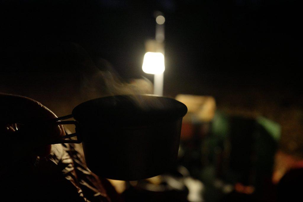 LeicaQで撮る:ホウリーウッズ久留里キャンプ村でのキャンプの様子