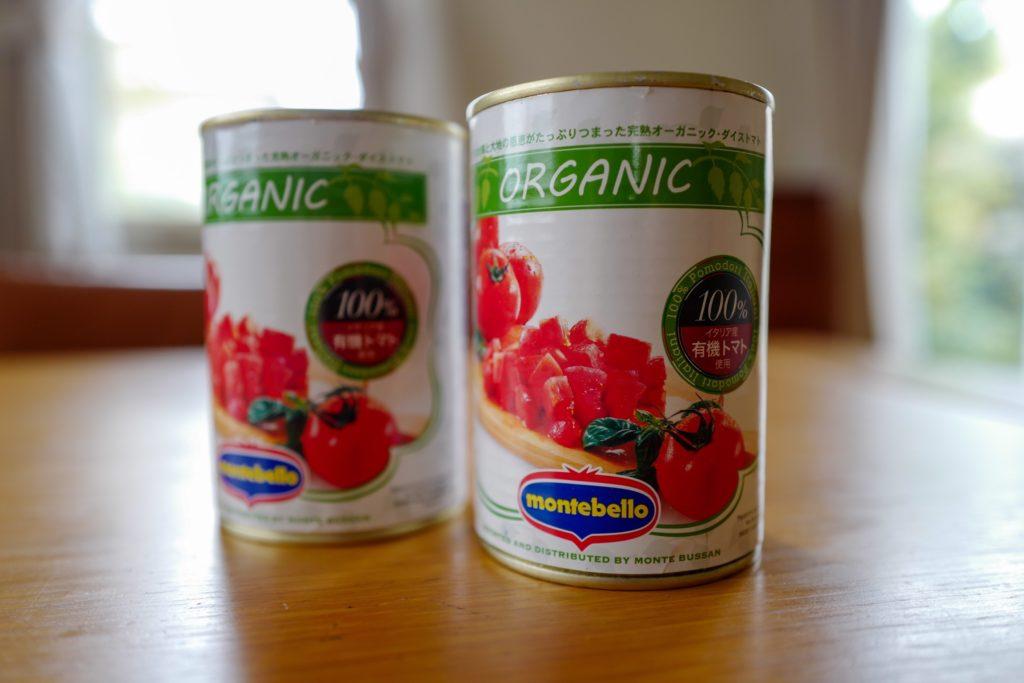 買い占めパニックを回避する!便利食材:トマト水煮缶