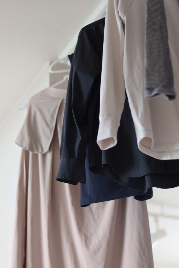 新型コロナ対策で、出かけた後は全部洗濯