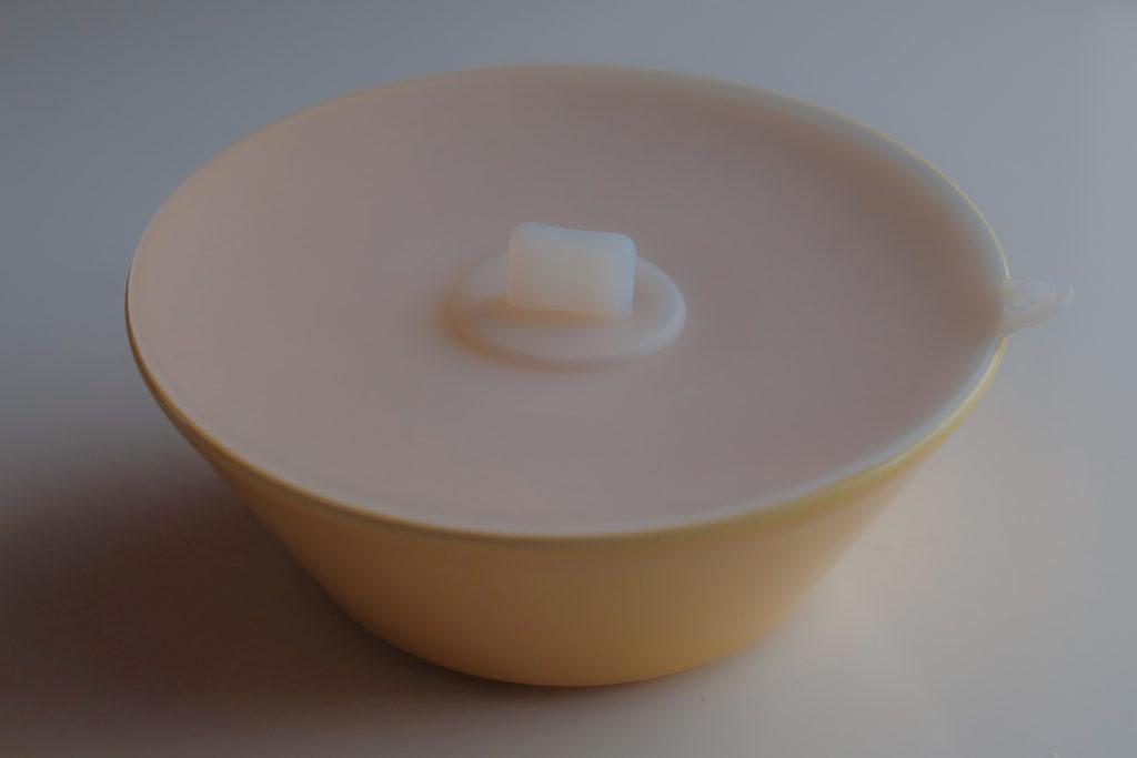 KEYUCA(ケユカ)シリコンラップ蓋はイッタラTEEMAシリアルボウルにぴったりサイズ