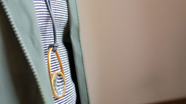 ジョージジェンセンのペンダントネックレス兼用ルーペ「SHADES(シェイド)」