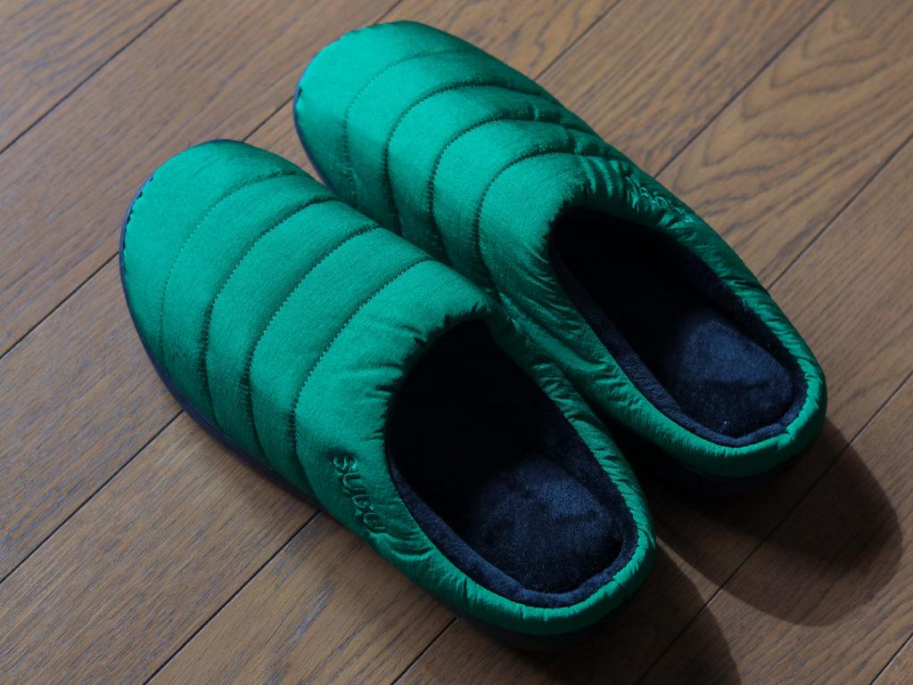 SUBU(スブ)冬用サンダルをスリッパとして室内使用しています。