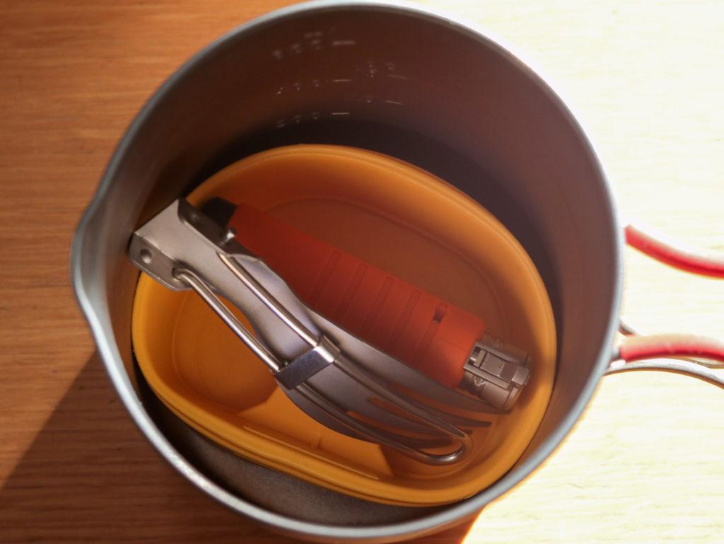 ライトハイク用、軽量お茶セットまとめ