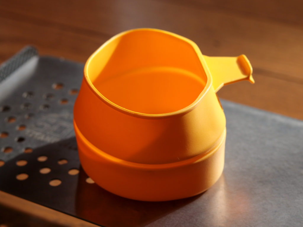ライトハイク用 軽量お茶セット:WILDOフォールドアカップ