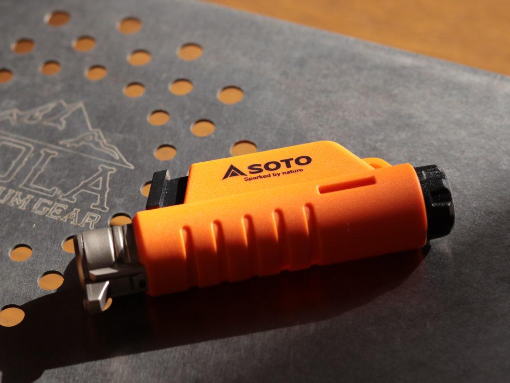 ライトハイク用 軽量お茶セット:SOTO マイクロトーチコンパクト