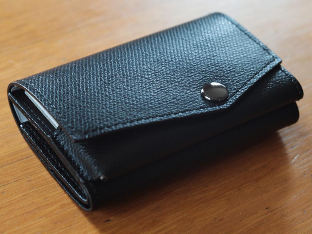 アブラサスの「小さい財布」を夫の誕生日プレゼントに