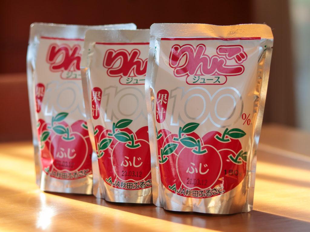 秋田県横手市のふるさと納税「ふるさとリンゴジュース」