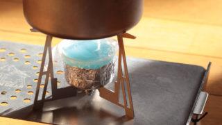Trail HutのゴトクPot tand yとダイソーの固形燃料で湯沸し
