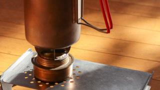 トランギアのアルコールストーブを使った湯沸し専用セット一式のまとめ