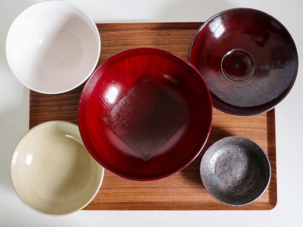 深さのある和食器ラインナップ(ボウル・小鉢)