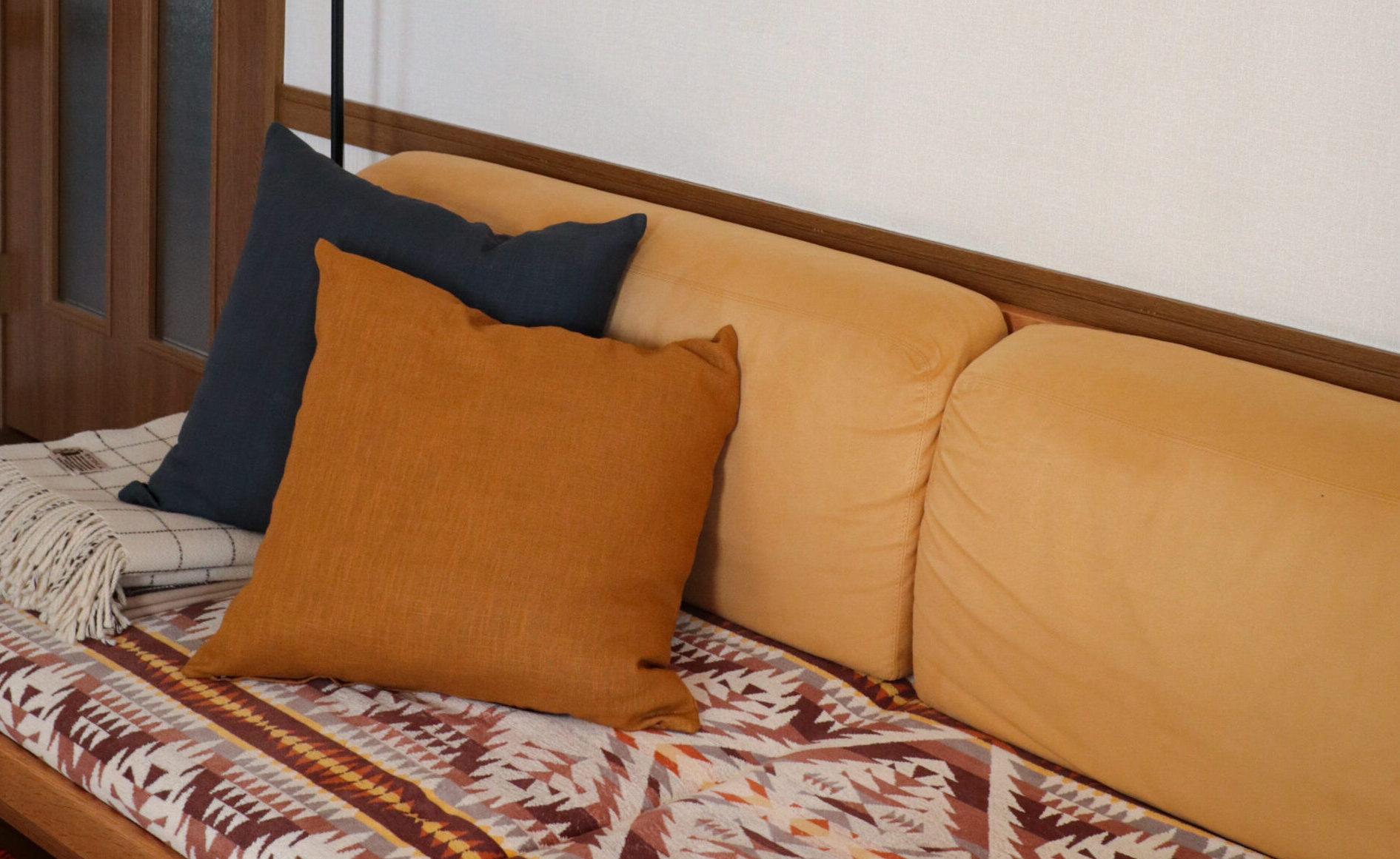 【収納問題解決!】収納袋にギュウギュウ詰めだった寝袋が、フカフカのクッションになりました。