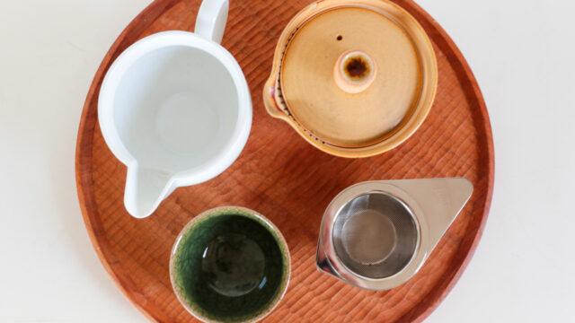ひとり専用!緑茶道具セット