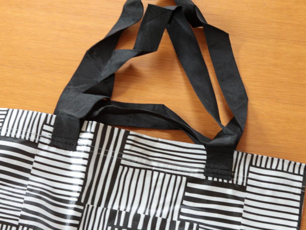 ミニマリストの1Kひとり暮らしで買ったもの:イケアのショッピングバッグFISSLA