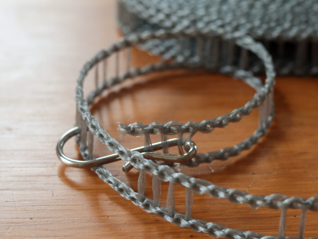 1kミニマムひとり暮らしのためにセリアで買ったものの記録:はしご状物干しハンガーロープ