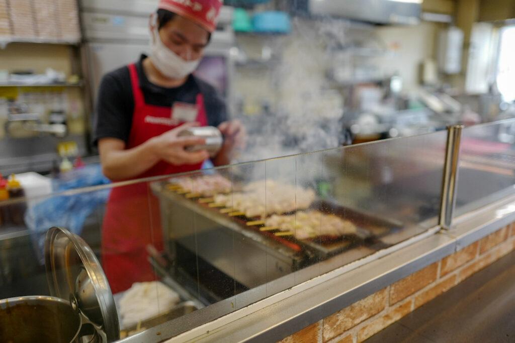 函館4泊5日ひとり旅で食べたおいしいもの&おいしいお店12:ハセストベイエリア店のやきとり弁当